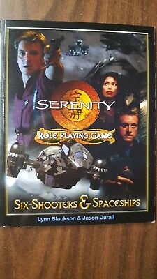 Serenity Role Playing Game: Six Shooters and Spaceships expansion