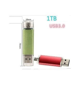 Cle USB 3.0 1 TO Rouge