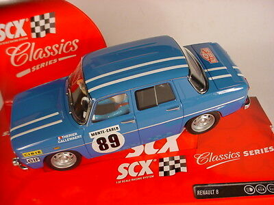 Scalextric SCX Renault 8 TS #89 Monte Carlo 1969 Blue 6316 MB