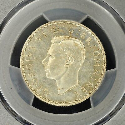 Florin 1937 PCGS PR64 Proof Great Britain S-4081 Silver Coin Great Condition