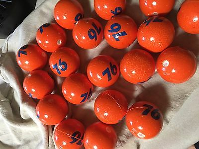 Lot 10  only 10 Union 76 Antenna Balls gas station good shape