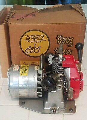Ohlsson Rice Tiny Tiger Model 300 AC Generator With Original Box Nice Condition