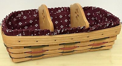 Longaberger Woven Traditions Bread Basket 1999