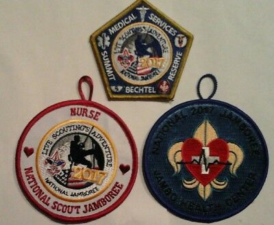 Boy Scout Medical Staff Nurse National Jamboree Patches