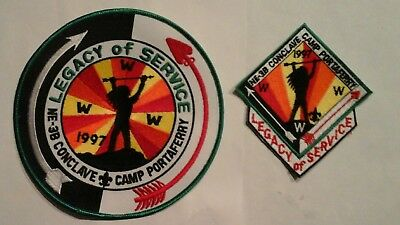 Boy Scout OA Conclave Camp Portaferry Patch Backpatch 1997