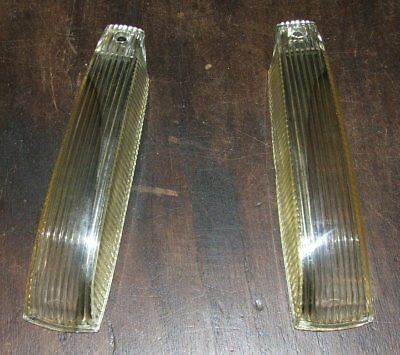 Mercedes Benz w105 219 220 S SE Ponton lens Left and Right. Never used Old stock