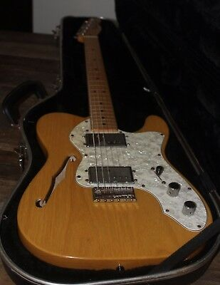 72 FENDER TELECASTER THINLINE Electric guitar made in Mexico... 2003 .