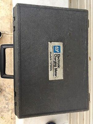 TIF 9025 Refrigerant Recovery Electronic Charging Scale HVAC  Good Used