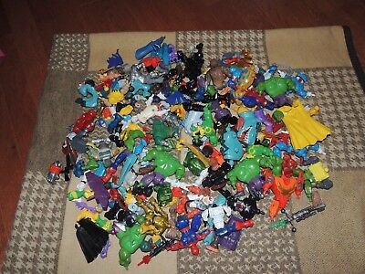 Large lot of Mixed Marvel Super Hero Mashers some Loose