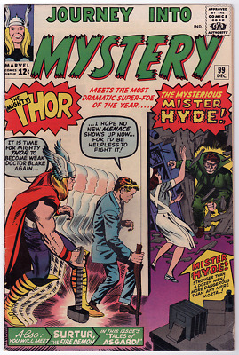 Journey Into Mystery 99 Fine Fn 6.0 - First Mister Hyde!