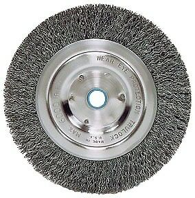 """ATD TOOLS 8350 - 6"""" Wire Wheel with Spacer for 1/2"""" Arbor"""