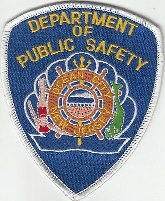 Ocean City Department Of Public Safety Police Patch New Jersey Nj Older