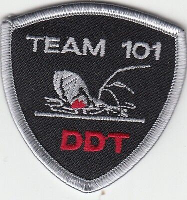Davidson County Sheriff Team 101 Spider Ddt Hat Patch North Carolina Nc Police