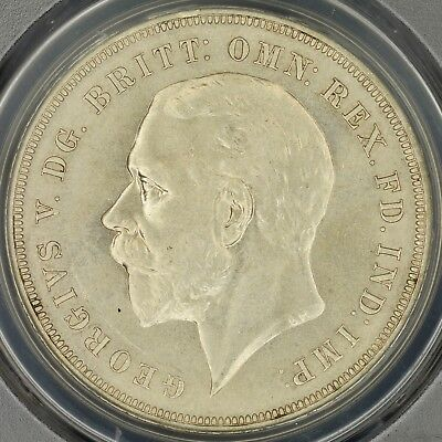 Crown 1935 PCGS MS64 Great Britain S-4048 Silver choice UNC Great Design