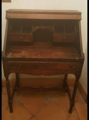 Charming Old Antique Wooden Desk