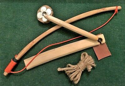 Special Bow Drill - Super light yet strong, Complete Kit, Bushcraft Fire Starter