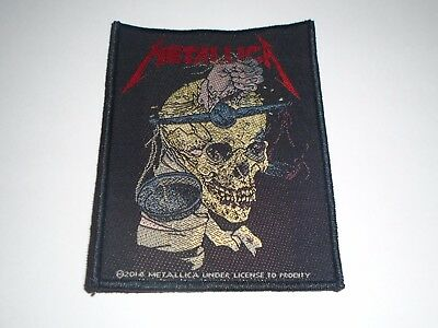 Metallica Harvester Of Sorrow Woven Patch