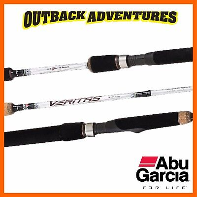 Abu Garcia Veritas Casting Rod 6Ft 2In 1 Piece Medium Light 3-6Kg