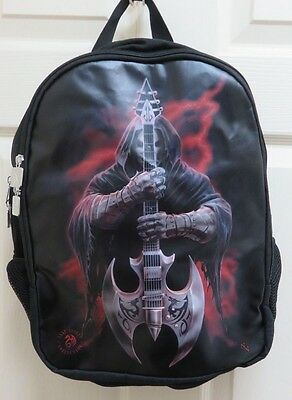 """Anne Stokes """"Rock God"""" Backpack/Rucksack by ACK for Nemesis Now New"""
