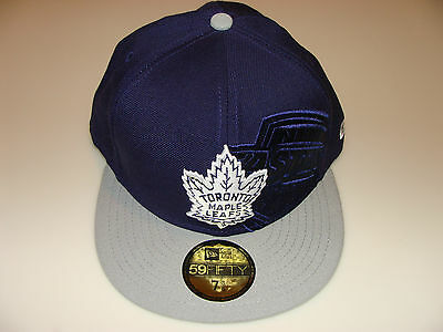 huge selection of 5bdc1 7ceab New Era 2012 Shimmer 59Fifty Cap Fitted Hat NHL Hockey 7 1 2 Toronto Maple