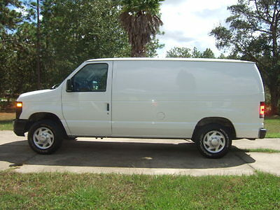 2008 Ford E-Series Van E-150 2008 Ford E 150 Cargo Van with Shelving - Low Mileage