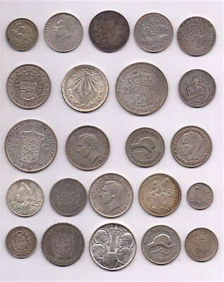 Premium Lot Of World Wide Silver Coins #10, 8.9 Troy Ounces