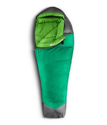 New The North Face Green Kazoo Sleeping Bag - 650 Pro Down Filled 0F / -18C