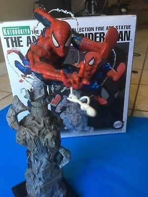 SPIDER-MAN Unleashed STATUE, Spiderman 300,not sideshow,Amazing Fantasy 15