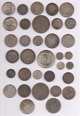 Premium Lot Of World Wide Silver Coins #12, 10.2 Troy Ounces