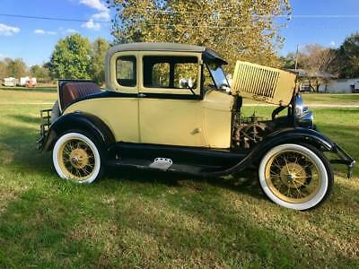 1928 Ford Model A  1928 Ford Model A Coupe- Upgraded Hydraulic Brakes