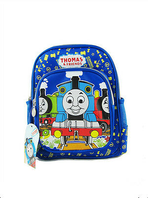 Disney Thomas&Friends Children's Boys Carton Cute Blue Edition School Backpack-1