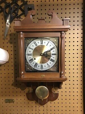 Vintage Hamilton 31 Day Wall Clock