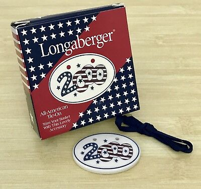 Longaberger 2000 All American Tie-on