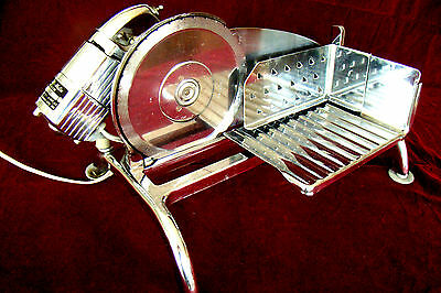 Vintage RIVAL Electric Meat, Cheese Deli Style Food Slicer Electr-O-Matic #1101E