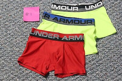 Under Armour Boys Original Boxerjock 3-Pack Size Youth XS #1