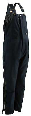 Berne Deluxe Twill Insulated Bib Overall Size XL Tall (Navy)