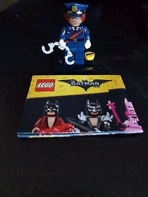 Lego Batman Mini Figure - Barbara Gordon Officer! NEW (without package)! MINT!