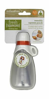 Infantino Keeper Squeeze Pouch Reusable Pouch