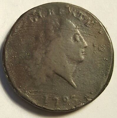 1793 Chain Cent 1860's Electrotype VG-Fine #1702