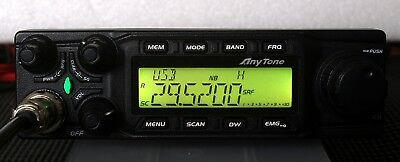 Anytone AT6666 All Mode 10 meter mobile Radio AM FM USB LSB CW PA - All Mode!