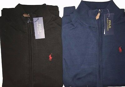 new Full Zip mens Polo Ralph Lauren cardigan