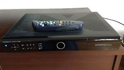 Foxtel satallite iQ2Hd Box With power Cable remote And Foxtel Card