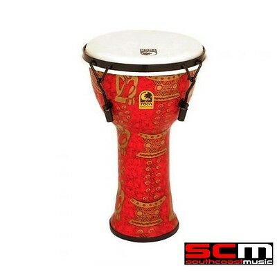 Toca Thinker TOCTF2DM9T 9 inch Mechanically Tuned Djembe Percussion Hand Drum