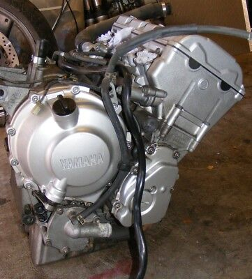 YAMAHA R6 5EB ENGINE - spares or repair, one cylinder is down.