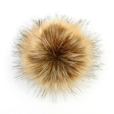 Lovely Hat Clothing  Bag Shoes Accessory Ball Fur Pompom Pompon Button Removable