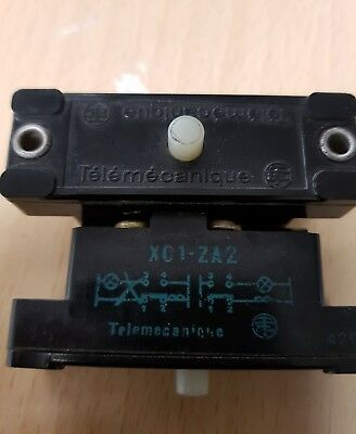 Lot of 2 Pieces of Telemecanique XC1-ZA2  MICROSWITCH . Tracked postage.