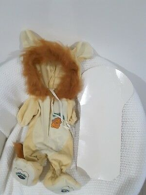 Cabbage Patch outfit as new with hanger..lion outfit