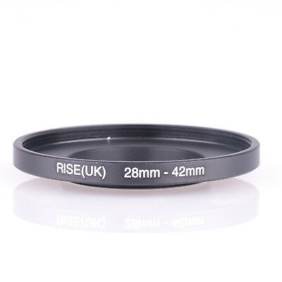 28-42mm Step-Up Metal Lens Adapter Filter Ring / 28mm Lens to 42mm Accessory