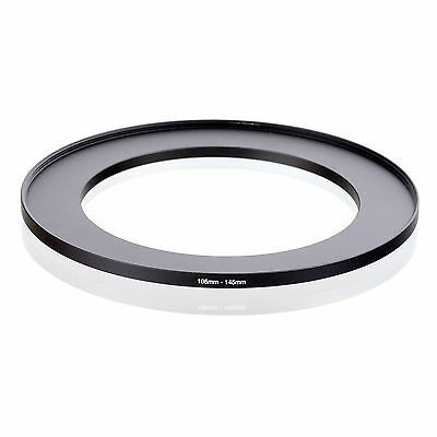 105mm-145mm  105 to 145mm Step Up Filter Ring Stepping Adapter Adaptor Black