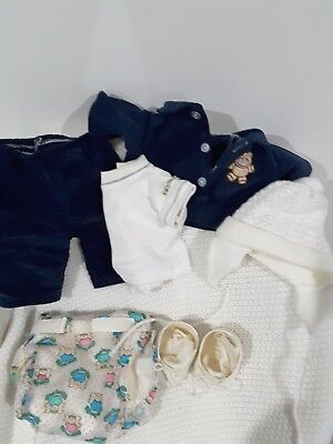 Cabbage Patch  Kid outfit  as new  with shoes and socks for boy